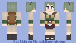 Midori - Fire Emblem: Fates Minecraft Skin