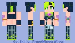 Jolyne Cujoh Minecraft Skin