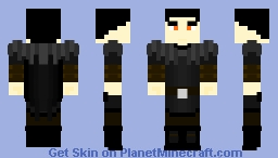 Quinn, Leader of the Red Fangs - The Story Extended Universe OC ~Ὠκεαν~ Minecraft Skin
