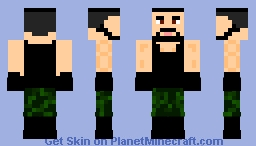 Rezar l WWE! Minecraft Skin