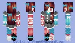🎶ℒ 𝓮 𝓲 𝓪🎶 ~ Sundown ~ Contest Entry {Popreel} Minecraft Skin