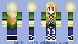 "JJ Project JB ""Bounce"" Inspired Minecraft Skin"