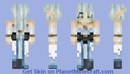 ALO Gamer - Undine Minecraft Skin
