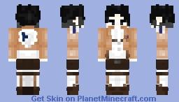 - Lieutenant Levi Ackerman - {Attack On Titan} Minecraft Skin
