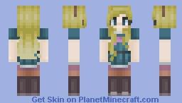 Star Butterfly Minecraft Skin