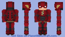 The Flash (DCEU) Minecraft Skin
