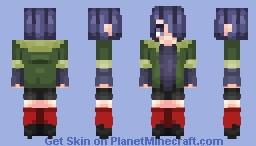 Touka Kirishima - Tokyo Ghoul [Different Version in Description] Minecraft Skin