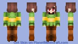 Underswap - Chara Minecraft Skin