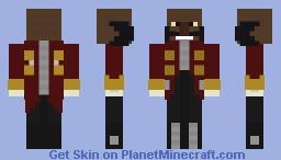 DarkSkinned Eggman Minecraft Skin