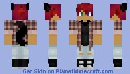 Blaze w/ New Outfit Minecraft Skin