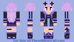 Megadimension Neptunia: Adult Neptune Minecraft Skin
