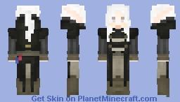Black Robes -  (•◡•) / Minecraft Skin