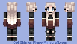 Borderline Minecraft Skin