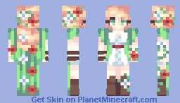 daughter of nature Minecraft Skin