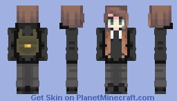 Dear Evan Hansen (Connor Murphy) Suzu Version ,':3 Minecraft Skin