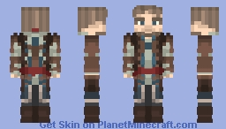 Edward Kenway {Assassin's Creed : Black Flag} Minecraft Skin