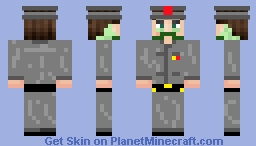 President of the NSR Minecraft Skin