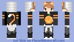 •Kawaii Cat Boy• First Skin Minecraft Skin