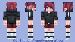 Punk Girl | Look who's back! | Holy shooot my first Popreel! Minecraft Skin