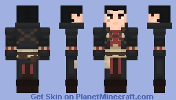 Shay Cormac || Assassin's Creed: Rogue Minecraft Skin