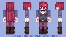 Shiny Chariot - Little Witch Academia Minecraft Skin
