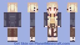Hey I'm Back Minecraft Skin