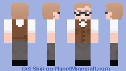 Thomas Dolby - Europa & The Pirate Twins Minecraft Skin