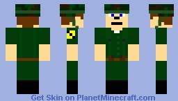 US 1st Cavalry Division soldier (the Vietnam War) Minecraft
