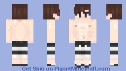 Minecraft swimming boy skin