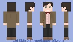 Eleventh Doctor Minecraft Skin