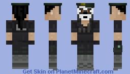 Rainbow Six Siege - Caveira Minecraft Skin