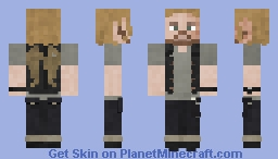 Dwight [The Walking Dead] // 7x11 Minecraft Skin