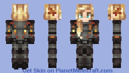 Lαεηα || Aelin of the Wildfire Minecraft Skin