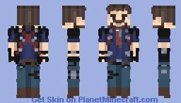 Rico Rodriguez {Just Cause : 3} Minecraft Skin