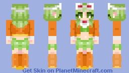 Gumi - Vocaloid Minecraft Skin