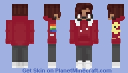 Michael Mell - Be More Chill (BMC) Minecraft Skin