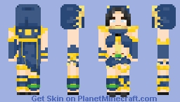 rndnlmtbg | Natalia - Phantom Dancer (Mobile Legends) Minecraft Skin