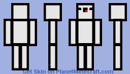 White Derp Minecraft Skin
