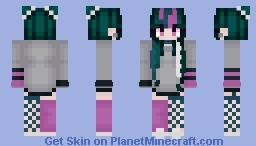 Ibuiki Mioda  Minecraft Skin