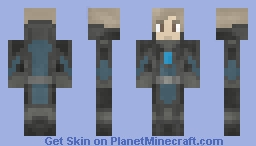 Sci-fi Human Male Minecraft Skin