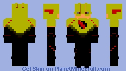 Reverse Flash CW Inspired (Better in 3D) Minecraft Skin
