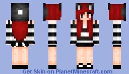 Neko Girl | Reskin #1 | nσnkíє ♡ Minecraft Skin