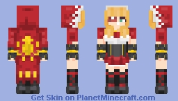 Inieloo | Ruby (Mobile Legends) Minecraft Skin