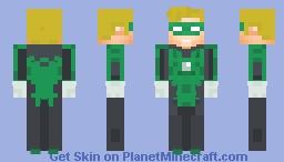 Daniel Young Green Lantern Minecraft Skin