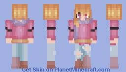✨ ℊℴℒⅆℰℕ ✨ Moon Ensom - Fanskin for DimondKatie Minecraft Skin