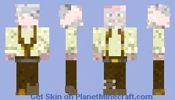 Hershel Greene (The Walking Dead) Minecraft Skin