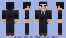 Bruce Wayne | DC Comics Minecraft Skin