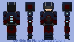 The Atom CW Minecraft Skin