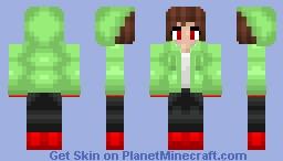 Chara Storyshift Minecraft Skin