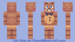 Toy Freddy Minecraft Skin
